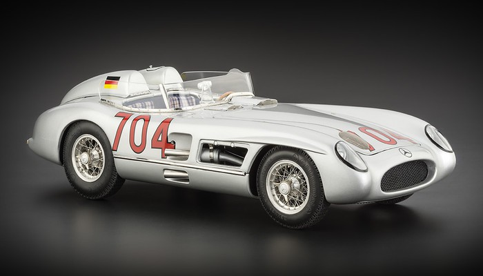 Mercedes-Benz 300 SLR 1955 Mille Miglia Limited Edition Modell 1:18