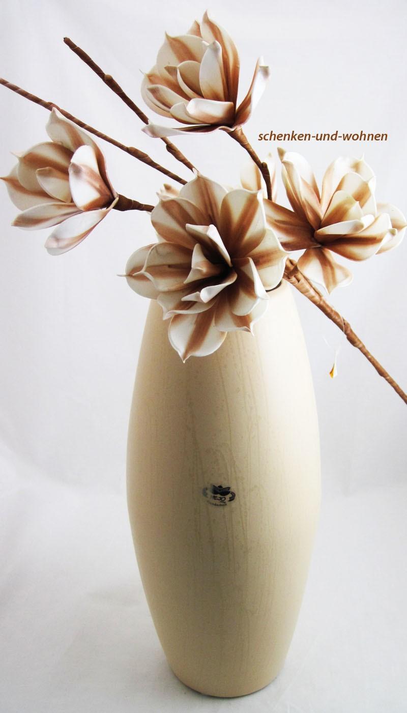 bodenvase remo champagner mit reaktionsglasur cm. Black Bedroom Furniture Sets. Home Design Ideas