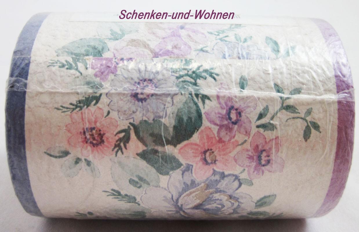 tapeten bord re floral romantisch wildblumen ca 8 5. Black Bedroom Furniture Sets. Home Design Ideas