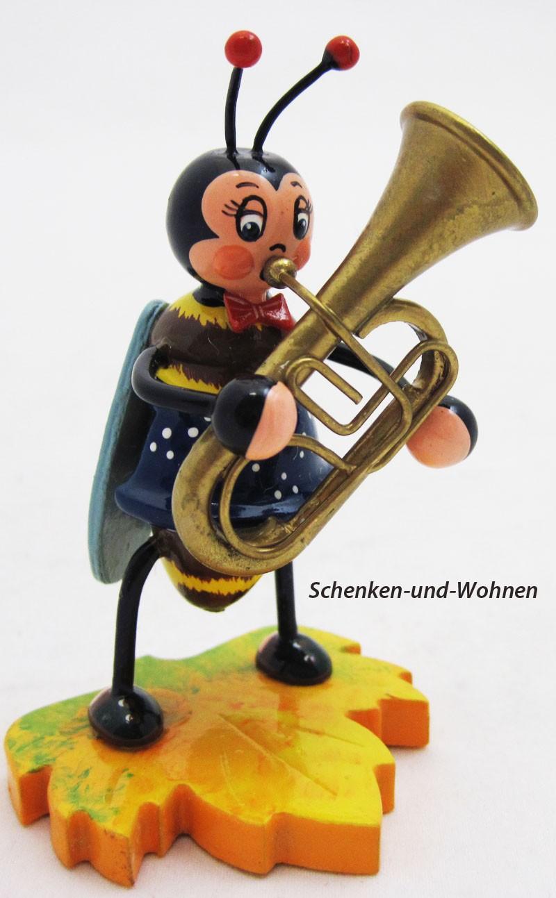 Hubrig - Hummel mit Tuba ca. 8 cm
