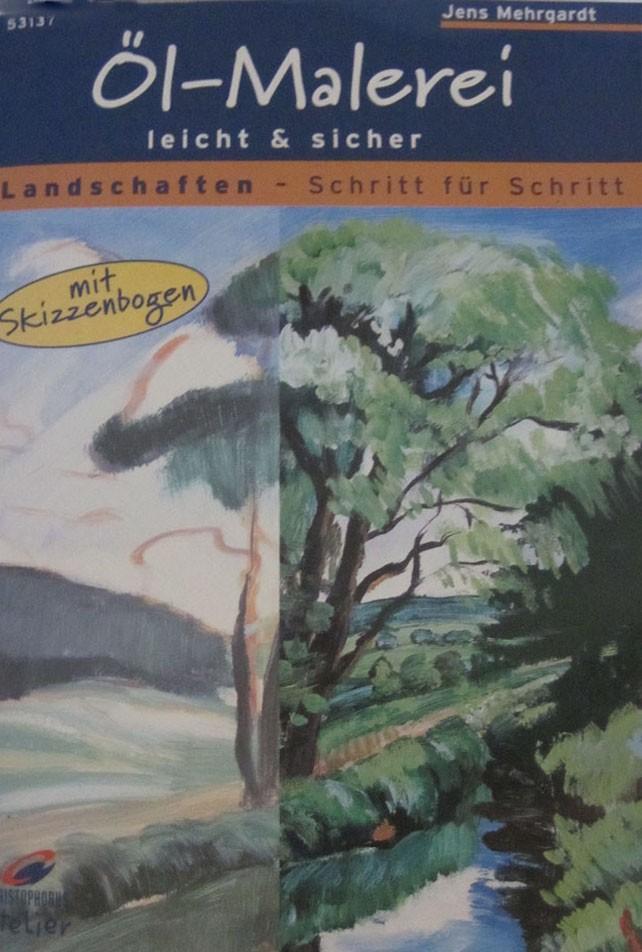 Bastelbuch-Öl-Malerei