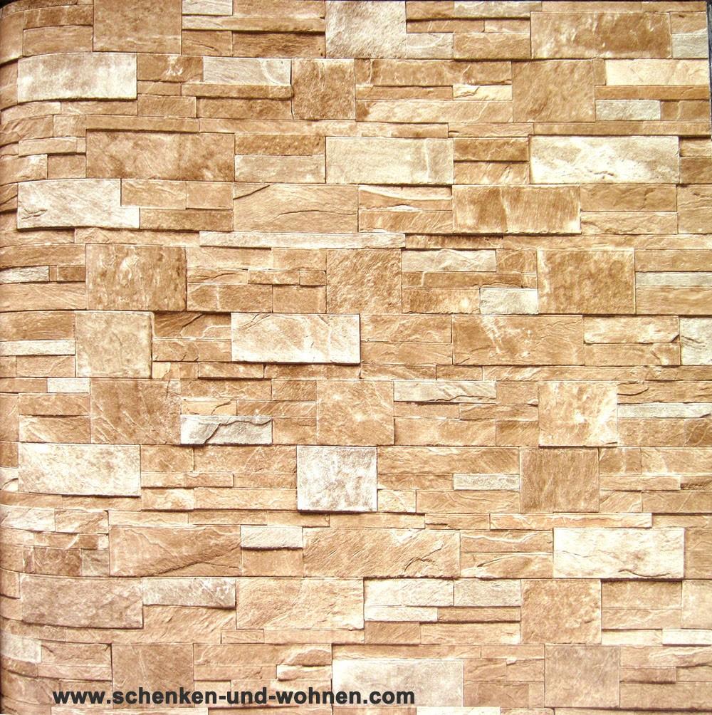 Tapete vlies steinoptik breite 1 06 m rollenl nge 10 05 m for Tapete breite