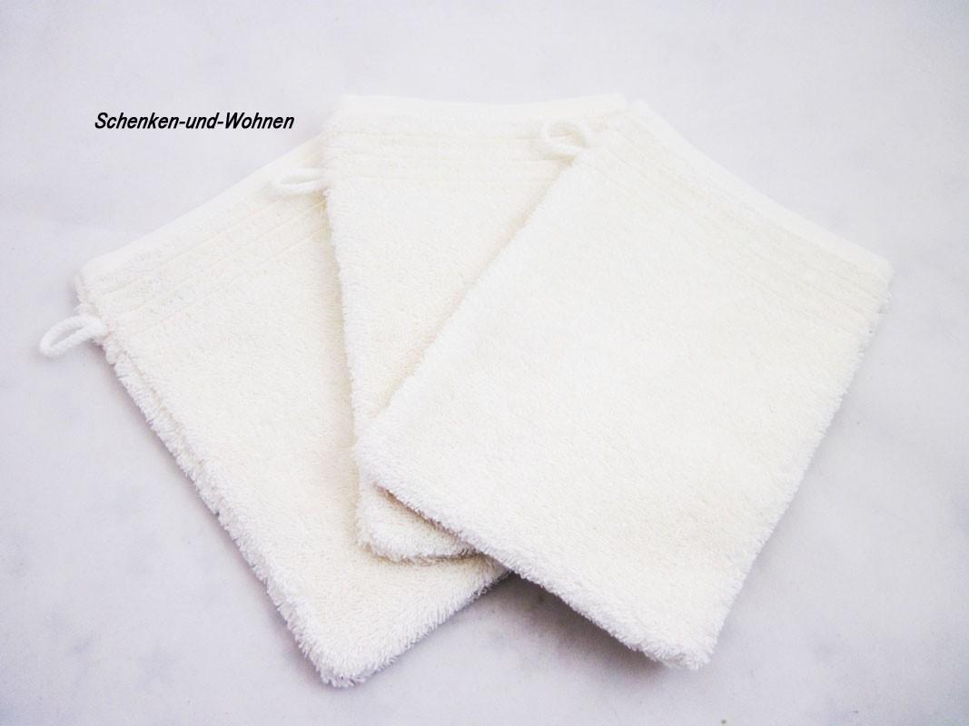 waschhandschuh dreams ivory beige schenken und. Black Bedroom Furniture Sets. Home Design Ideas