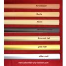 Übergangsprofil selbstklebend für Bodenbeläge 28 breitx1 m lang silber matt