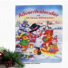 Adventskalender mit 24 Minibüchern mit Aufhängeschlaufe