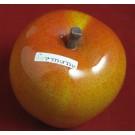 Keramik Apfel  Antik-orange 9cm