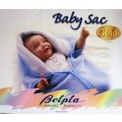 Babysack/decke 2 in1 Baby Perla -Giraffe Beige, 80 x 90 cm, 600g/m²
