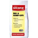 Sycofix - Bau- und Hobbygips 1,5 kg