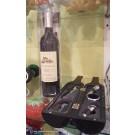 Deko-Weinflasche-Geschenkset 5-teilig in Geschenk-Box ca. 32 cm