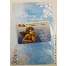 Geburtstagskarte Glückwunschkarte mit Schutzengelmotiv 51-4405