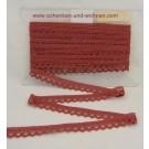 Baumwoll-Spitze Borte 25 mm breit rosenholz Tegernsee