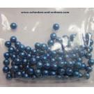 Wachsperlen blau 4 mm  Knorr Hobby