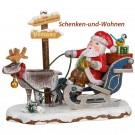 Hubrig Weihnachtsmann 11 x 10 cm  Neuheit 2017