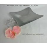 """Alu Schale """"Deep"""" matt 18 x 18 cm modern"""