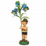 Hubrig - Junge mit Fingerhut ca. 24 cm