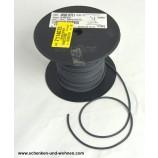 Schweißschnur 4 mmx5m PVC schwarz 0751 Meterware