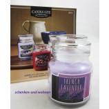 "Nature Candle-Duftkerze im Glas mit Deckel ""French Lavender"" ca. 7 x 7 x10 cm"