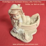 Kinderfigur Little Fisher Boy von Guiseppe Armany