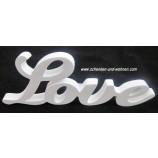 """Schriftzug """" Love """" weiß ca. 27 cm"""