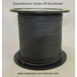 Schweißschnur 4 mmx5m PVC Cordon CR40 anthrazit Meterware