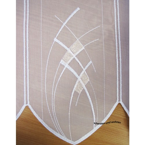 scheibengardine 45 cm breit scheibengardine gardinen. Black Bedroom Furniture Sets. Home Design Ideas