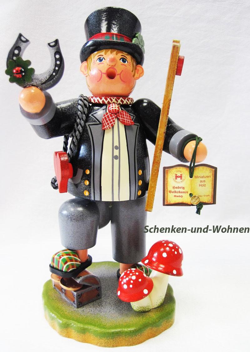 "Hubrig - Räucherfigur ""Glücksbringer"" ca. 21 cm hoch"