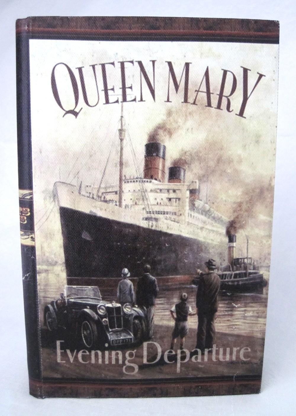 Buch - Aufbewahrungsbox groß Queen Mary 37x27x9 cm
