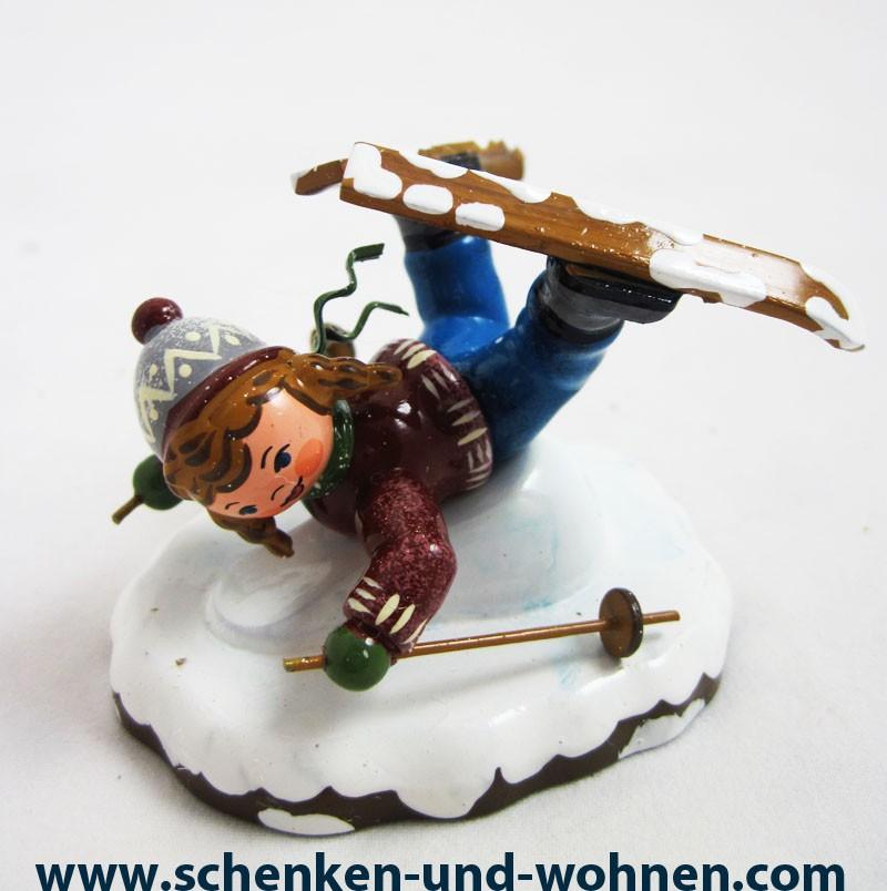 "Hubrig -  Winterkind ""Bauchlandung "" ca. 5 cm"