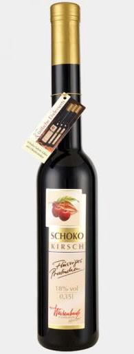 Schoko - Kirsch Likör 350 ml Flüssiges Pralinchen