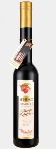 Schoko - Himbeere Likör 350 ml Flüssiges Pralinchen