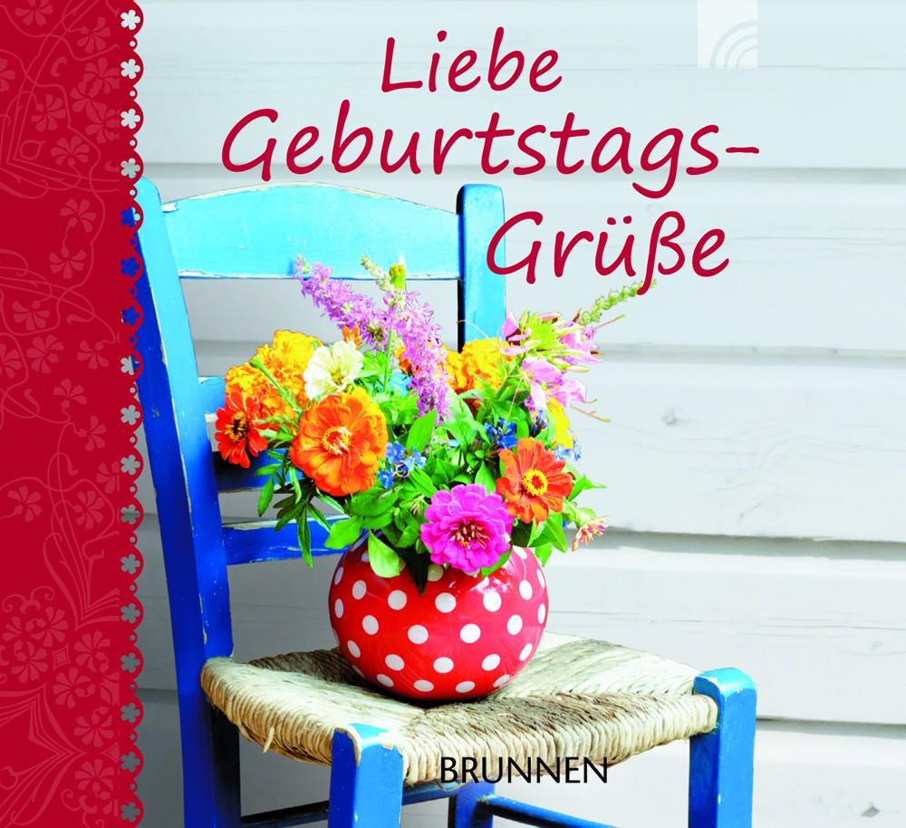"Miniaturbuch ""Liebe Geburtstags-Grüße"" ISBN 978-3-7655-1163-9"