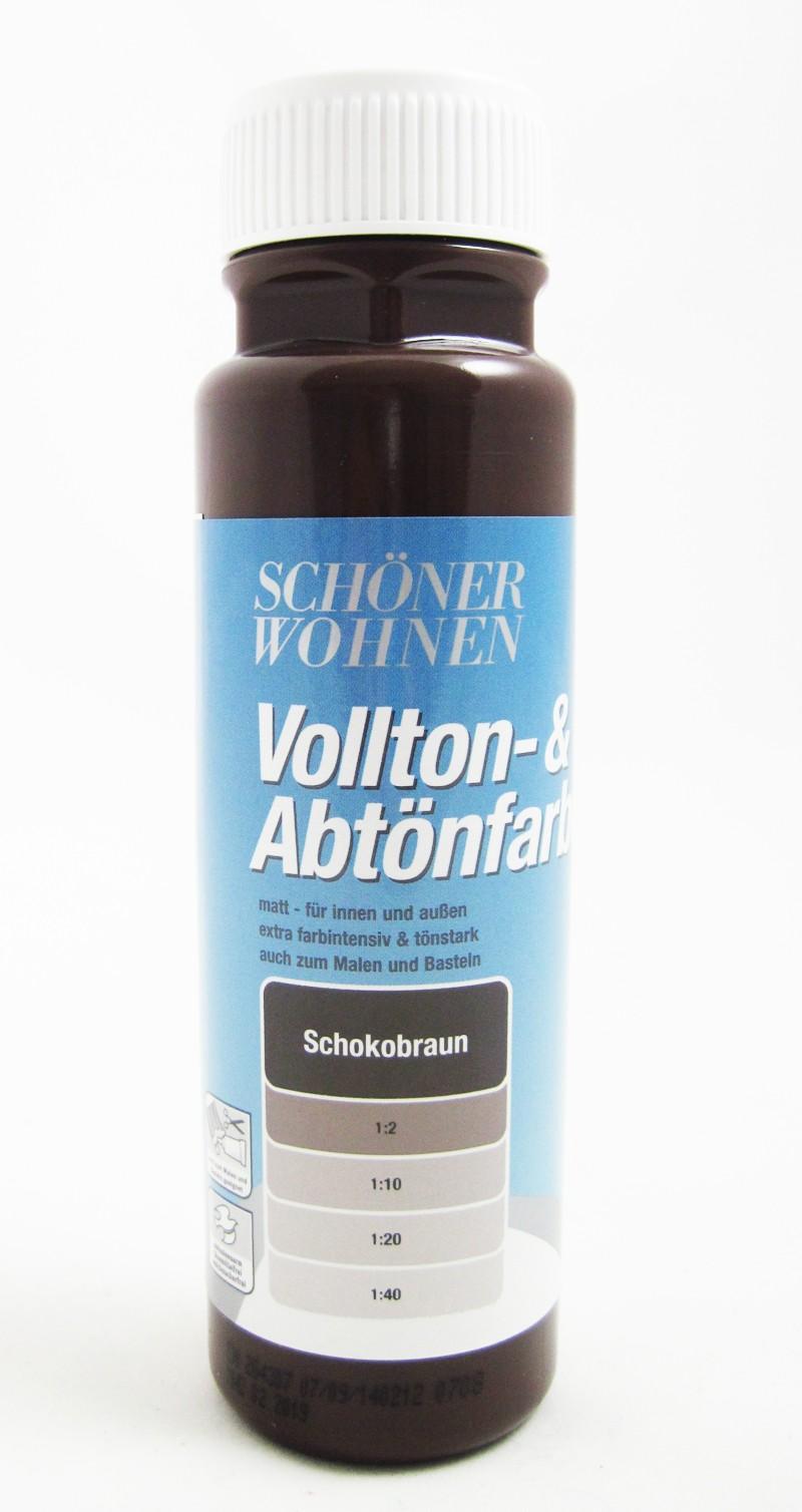 Voll- und Abtönfarbe schokobraun 125 ml Ausverkauft!