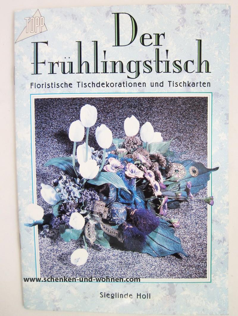 """Bastelbuch  """"Der Frühlingstisch"""""""