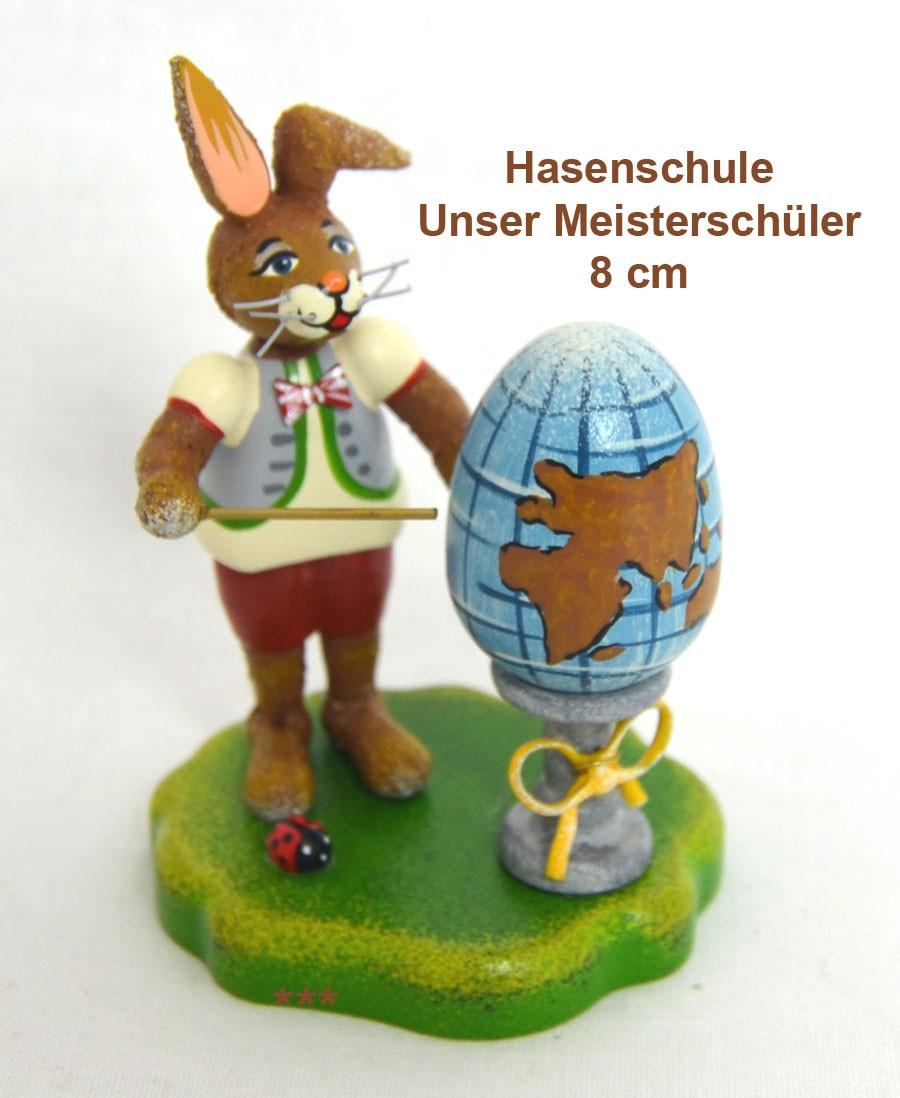 Meisterschüler Hubrig Volkskunst 8 cm Neuheit 2019