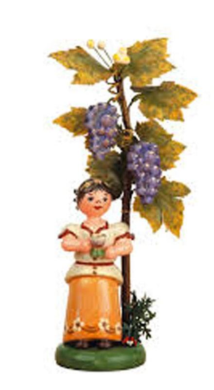 Hubrig - Blumenkind - Herbstkind Wein 13 cm