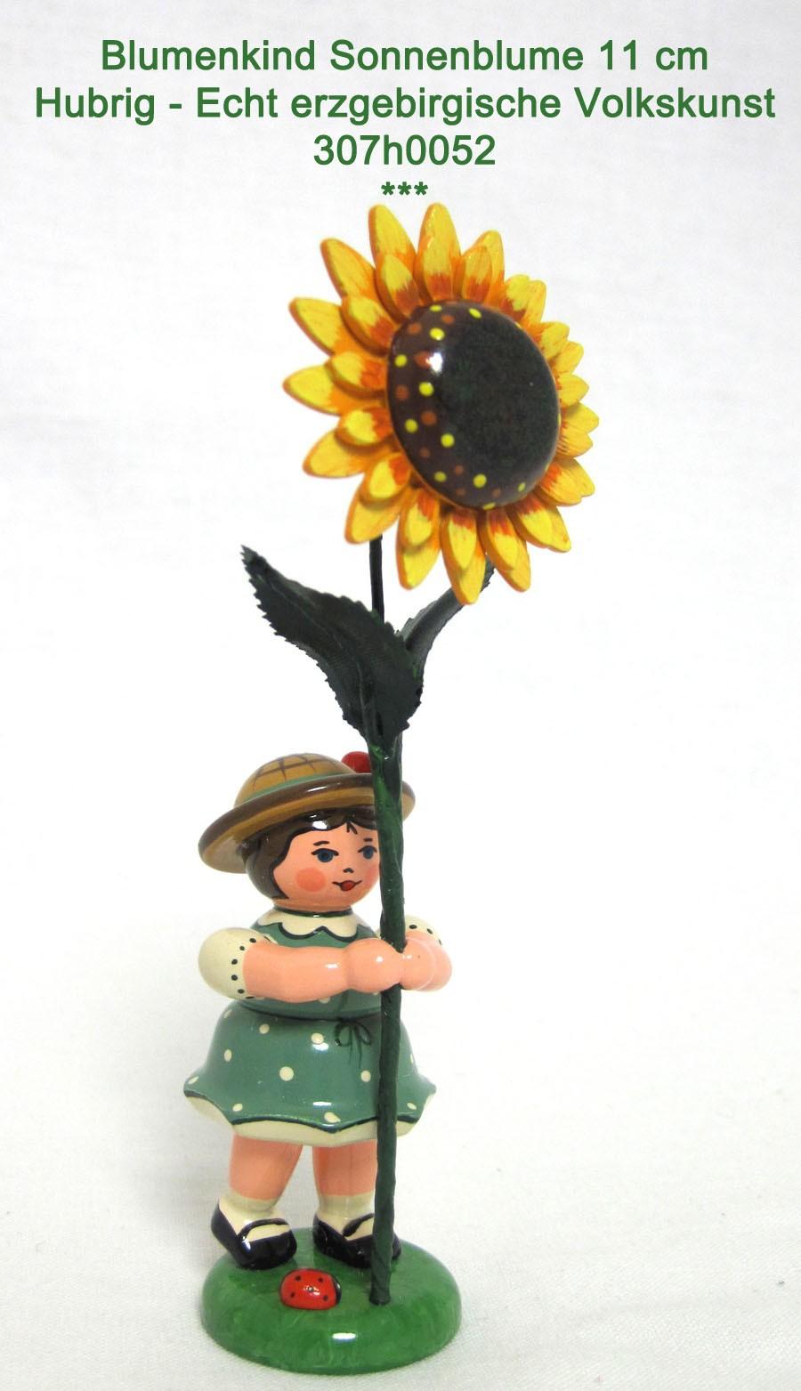 Hubrig - Blumenmädchen Sonnenblume 11cm