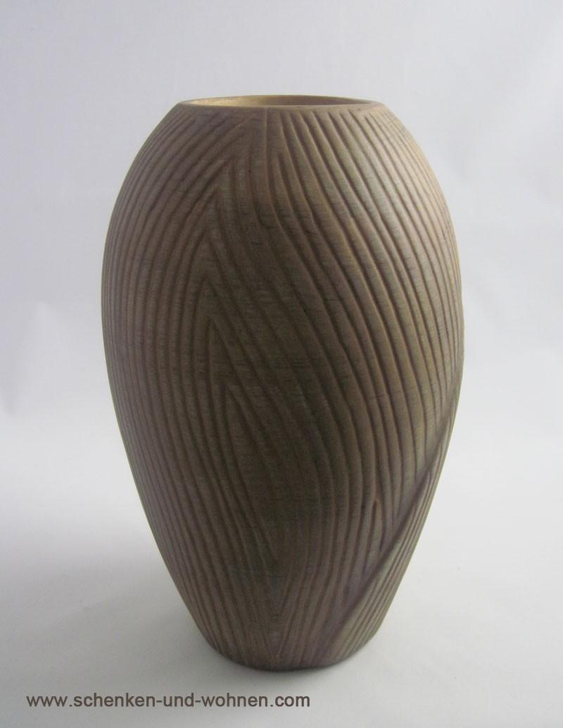 """Keramik-Vase Serie """"Natura"""" 24 cm"""