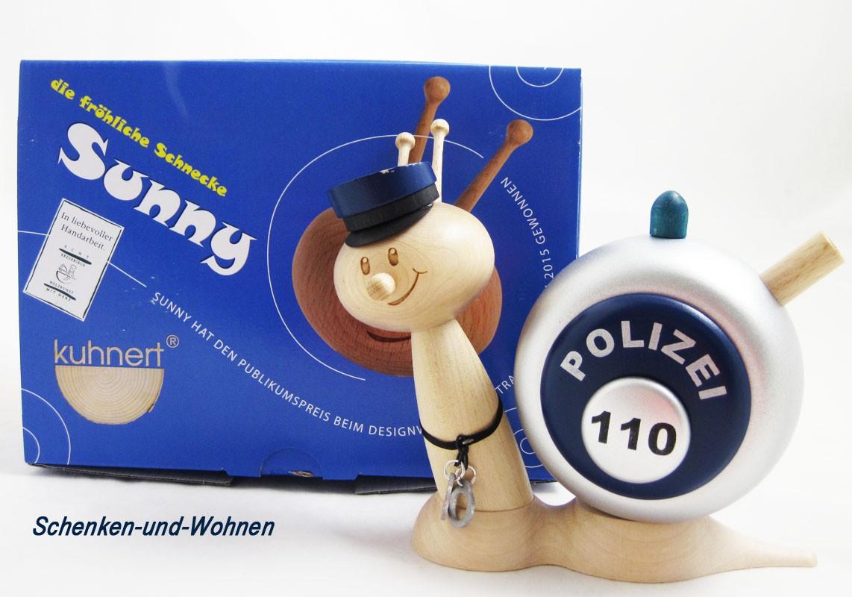 Polizeischnecke - Rauchschnecke Sunny ca. 15cm