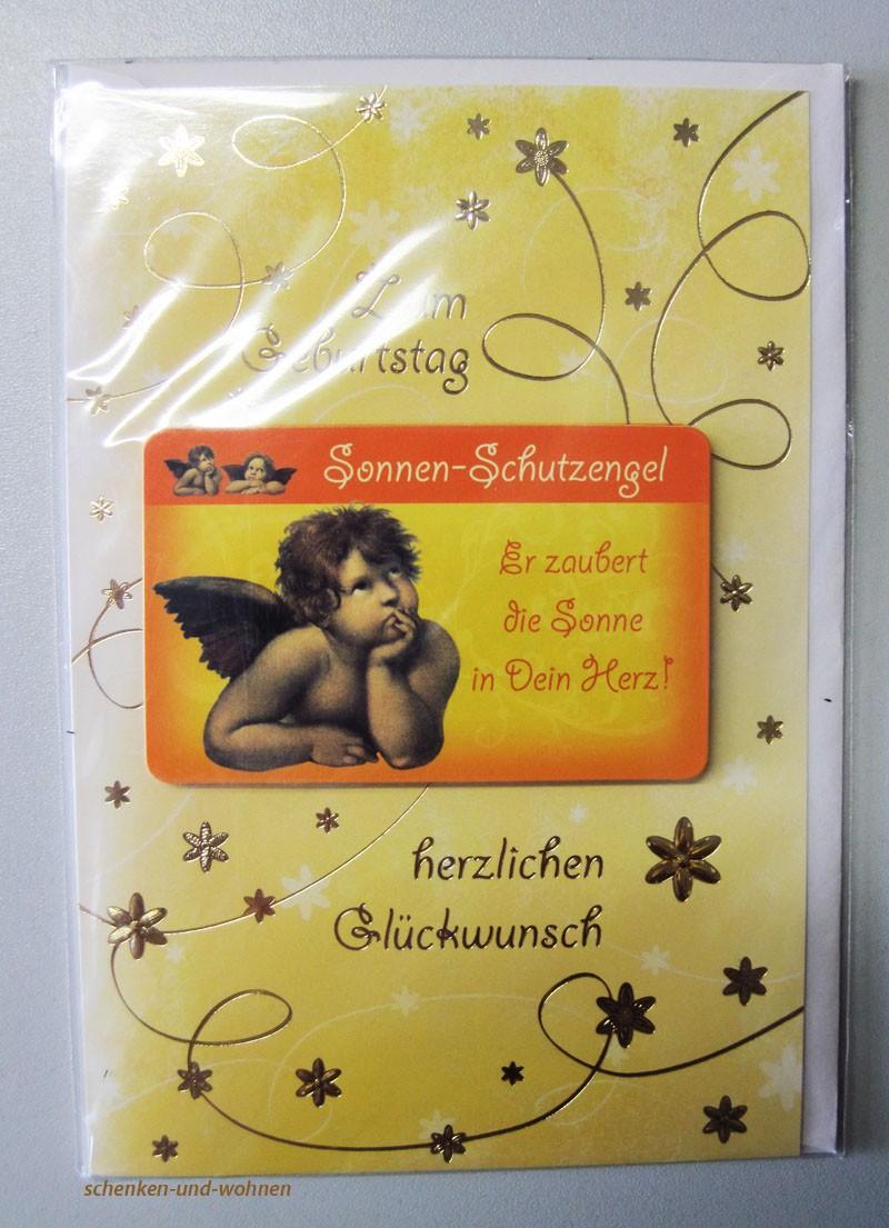Geburtstagskarte Glückwunschkarte mit Schutzengelmotiv 51-4427