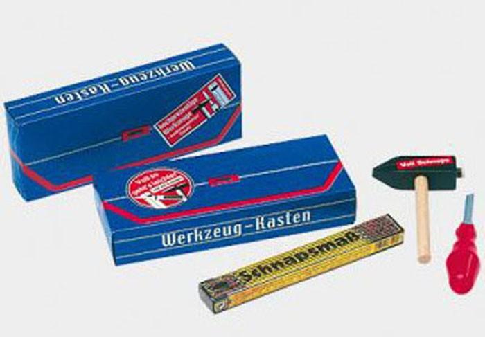 S4f Werkzeugkasten 27x11x5 cm gefüllt mit 140 ml Spirituosen
