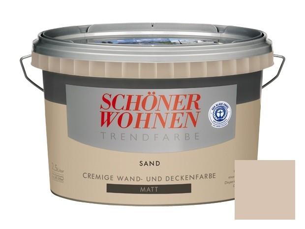 Schöner Wohnen Trendfarben-Sand-2,5 l matt
