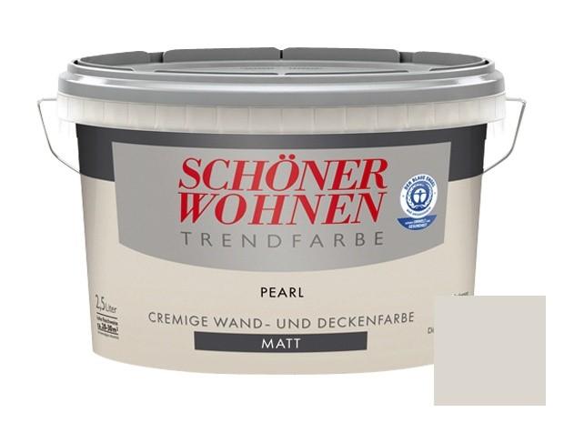 SCHÖNER WOHNEN Trendfarbe Pearl matt 2.5 l