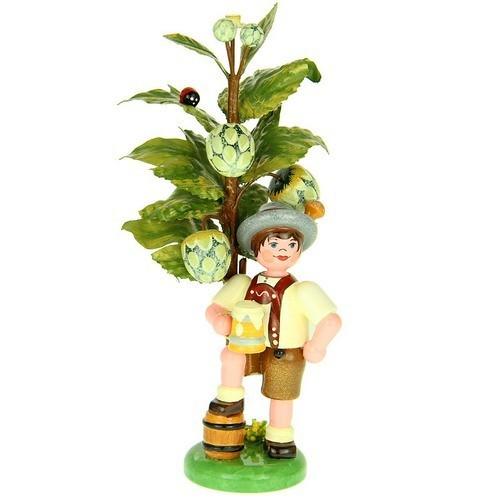 Hubrig - Blumenkind - Herbstkind Hopfen 13 cm