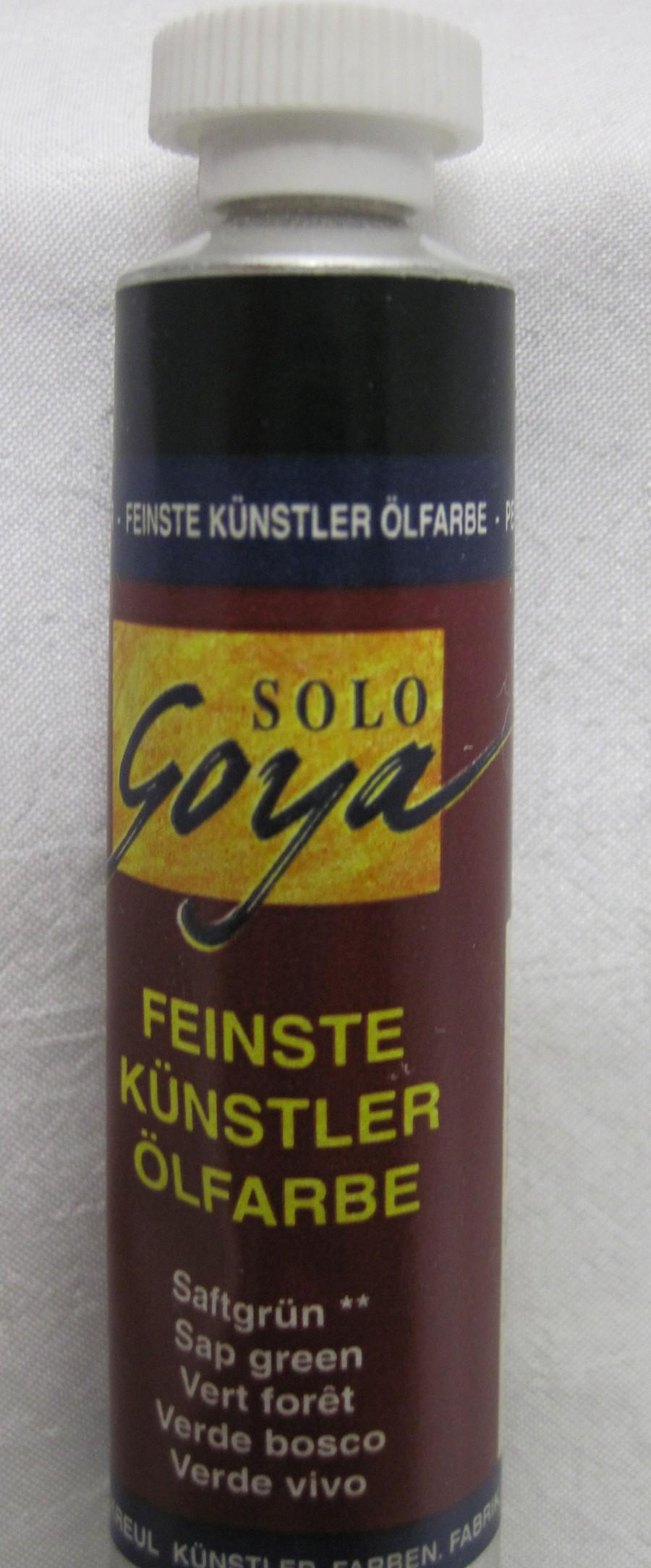 Feinste Künstlerölfarbe Goya saftgrün 20 ml