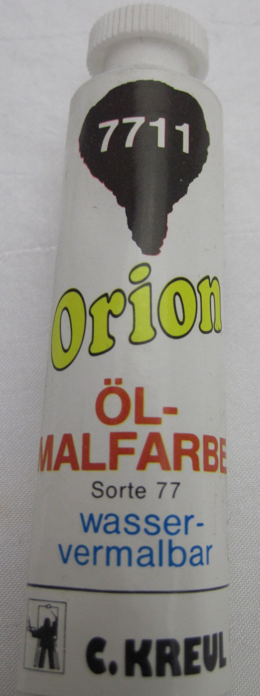Ölmalfarbe Orion Dunkelbraun 20 ml