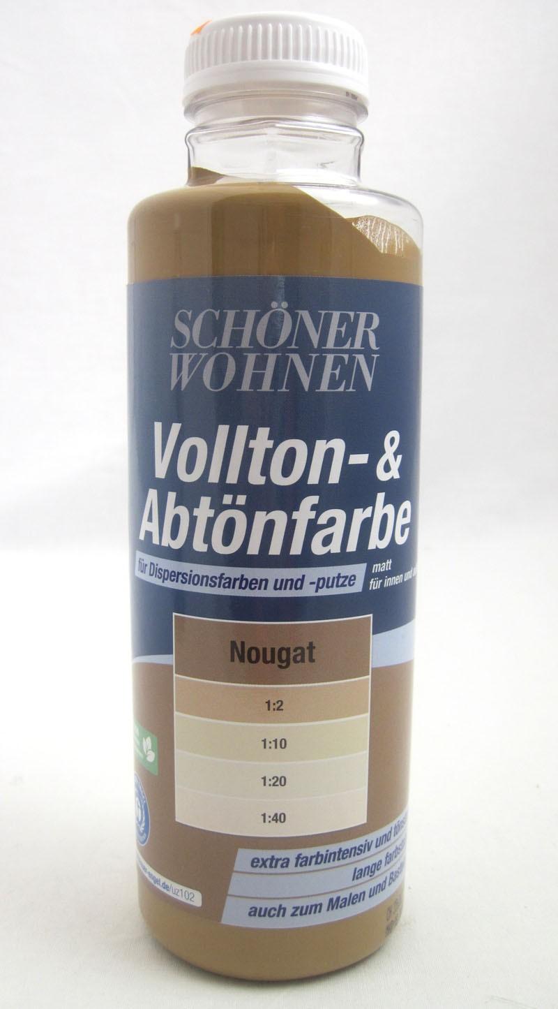 Voll- und Abtönfarbe Nougat 500 ml Schöner Wohnen