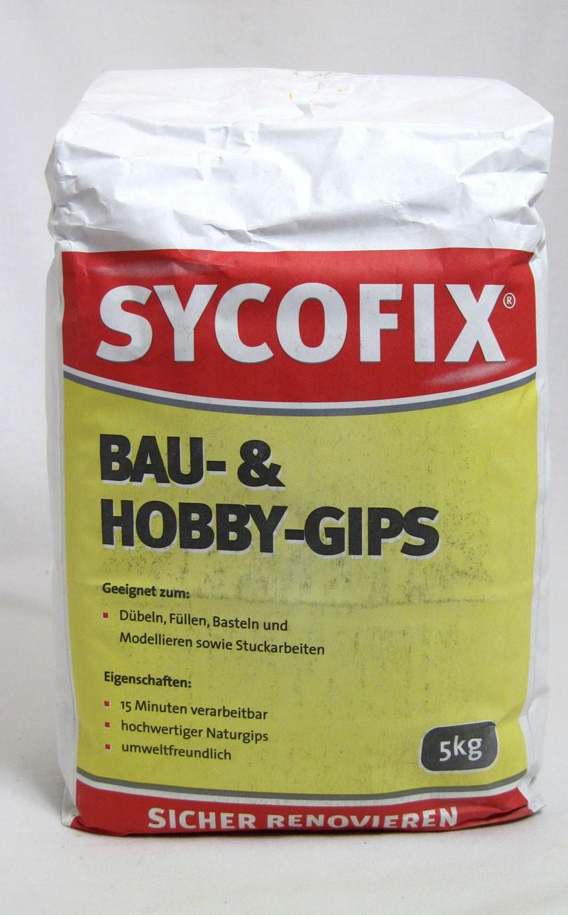 Sycofix - Bau- und Hobbygips 5 kg