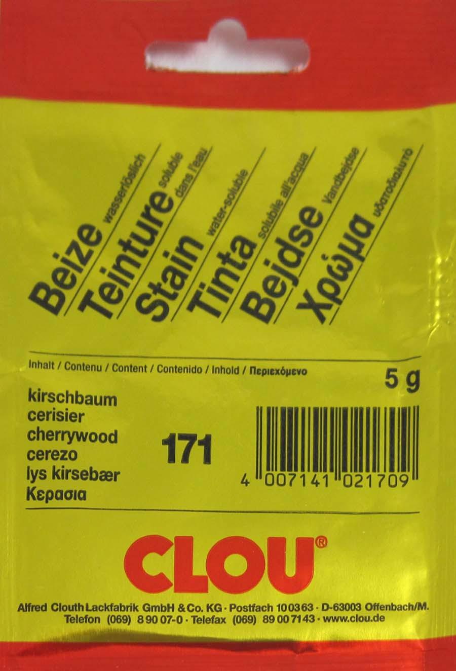 Beize Kirschbaum 171 wasserlöslich 5 g Clou