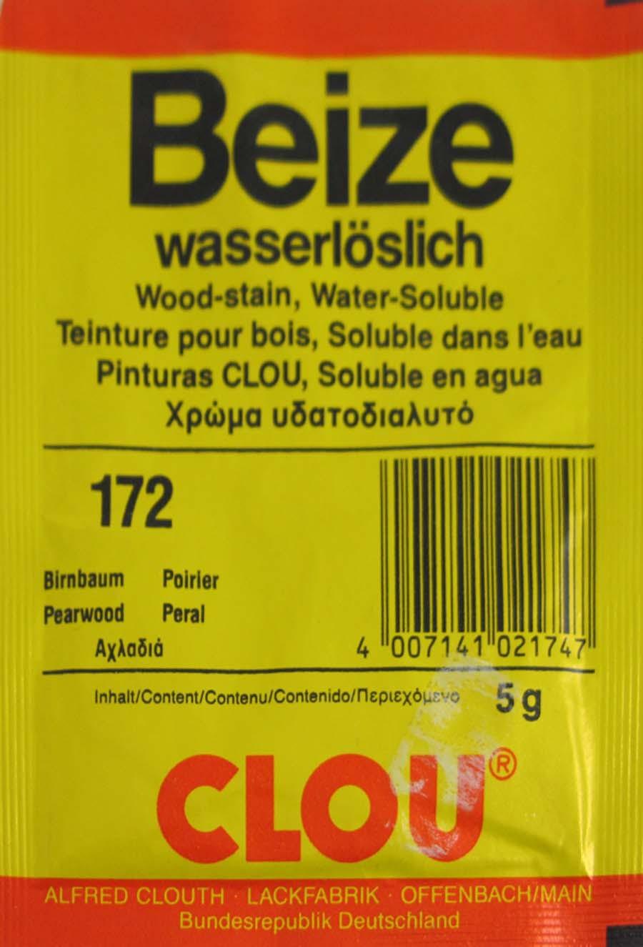 Beize Birnbaum 172 wasserlöslich 5 g Clou