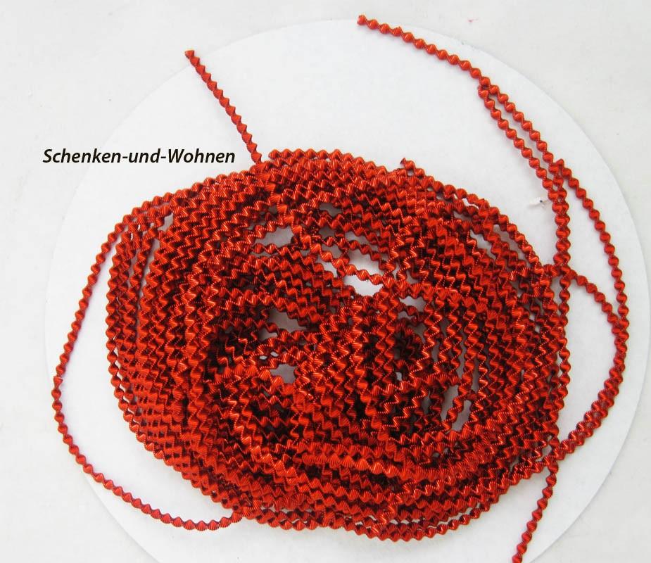 Bouillondraht - Schmuckdraht - Basteldraht rot, 85 g